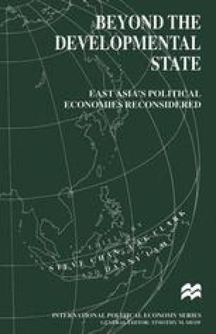 Beyond the Developmental State