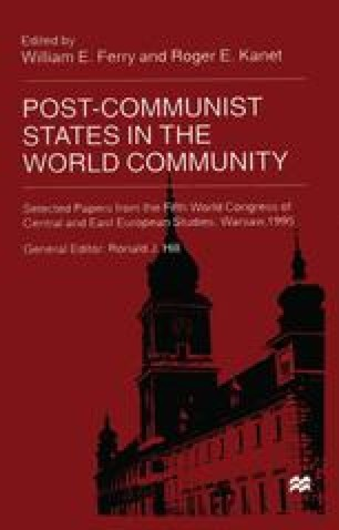 Post-Communist States in the World Community