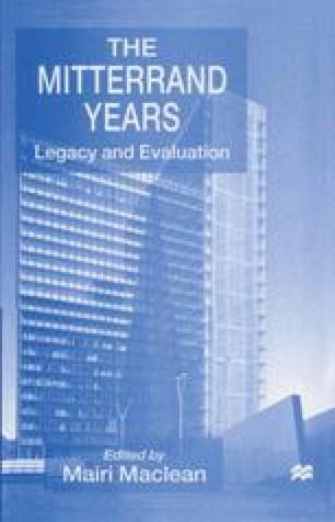 The Mitterrand Years