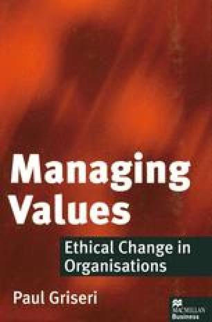 Managing Values