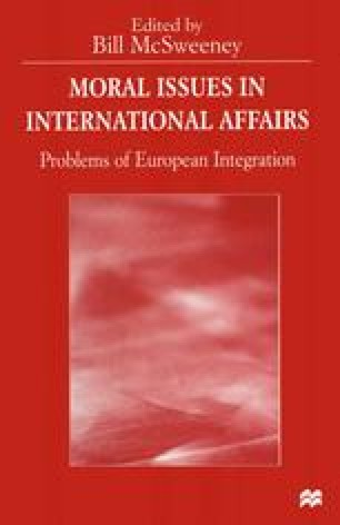 Moral Issues in International Affairs