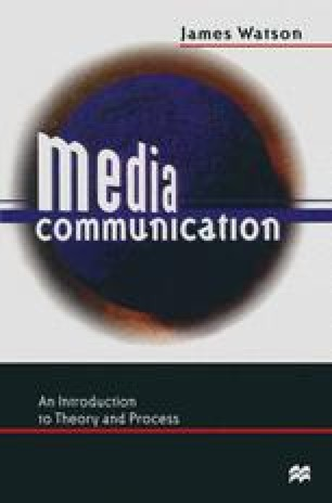 Media in Society: Purpose and Performance | SpringerLink