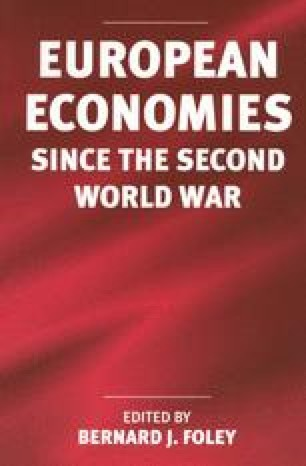 European Economies Since the Second World War