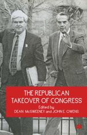 The Republican Takeover of Congress
