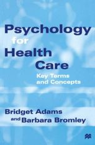 Psychology for Health Care