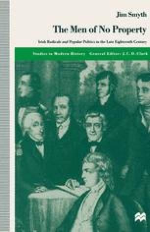 Agrarian Rebels, Secret Societies and Defenders, 1761–91 | SpringerLink