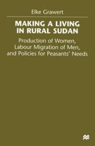 Making a Living in Rural Sudan