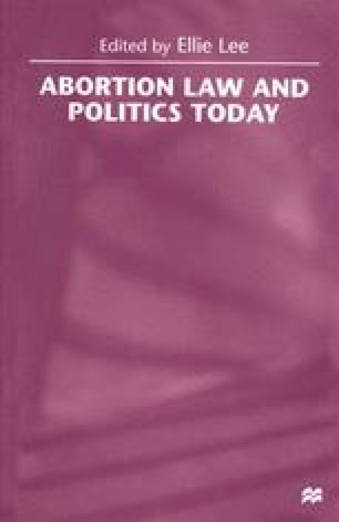 Abortion Law and Politics Today