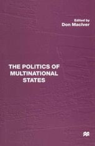 The Politics of Multinational States