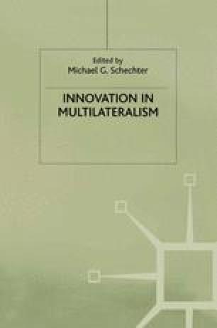 Innovation in Multilateralism