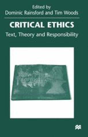 Critical Ethics