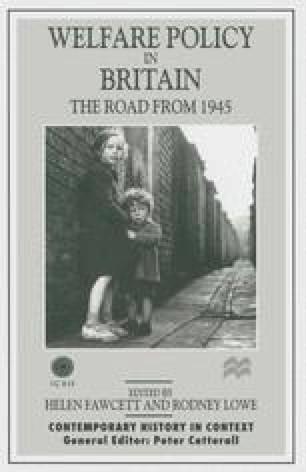 Welfare Policy in Britain
