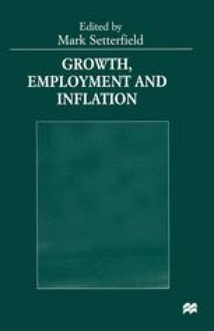 Growth, Employment and Inflation