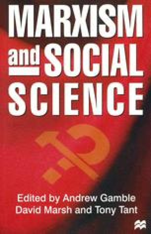 Marxism and Social Science