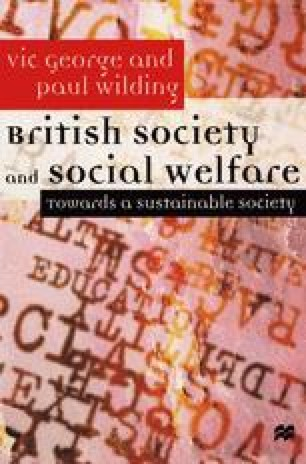British Society and Social Welfare