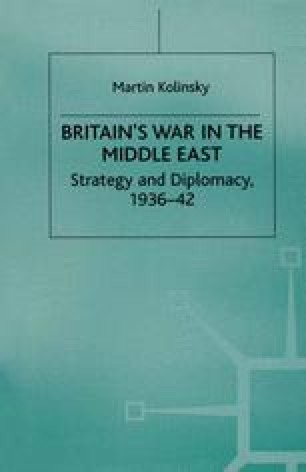Britain's War in the Middle East