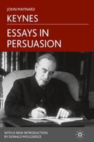 Essays in Persuasion