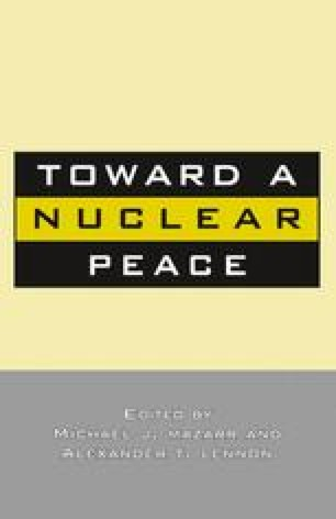 Toward a Nuclear Peace