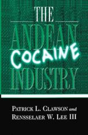 The Andean Cocaine Industry