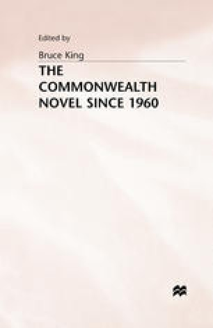 The Commonwealth Novel Since 1960