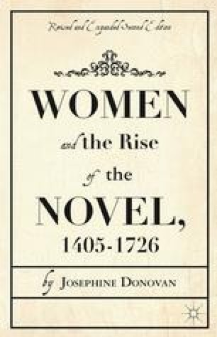 Women and the Rise of the Novel, 1405–1726