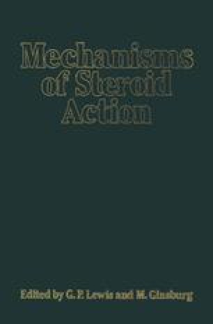 Mechanisms of Steroid Action