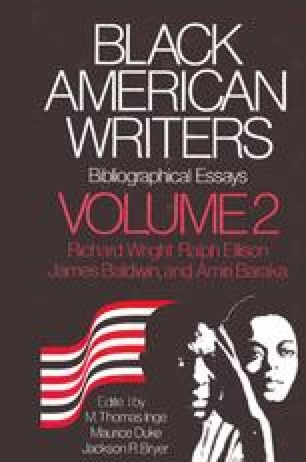 Black American Writers Bibliographical Essays