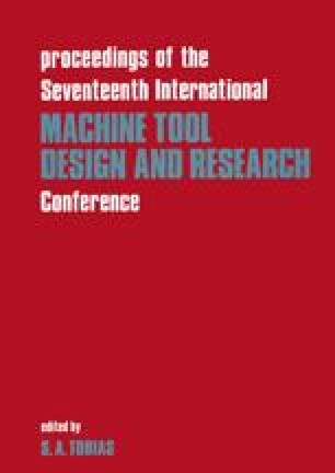 Proceedings of the Seventeenth International Machine Tool Design and Research Conference