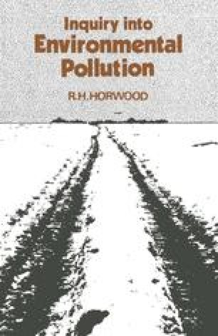 Inquiry into Environmental Pollution
