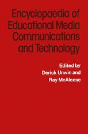 The Encyclopaedia of Educational Media Communications and Technology