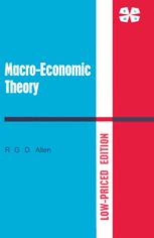 Macro-Economic Theory