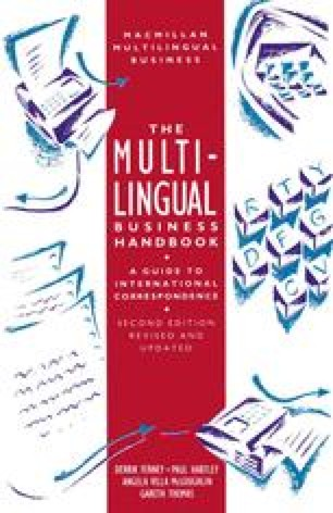 The Multilingual Business Handbook