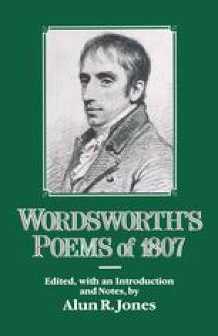 Wordsworth's Poems of 1807