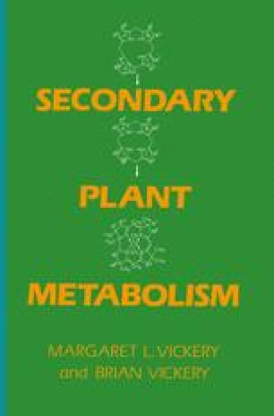 Secondary Plant Metabolism