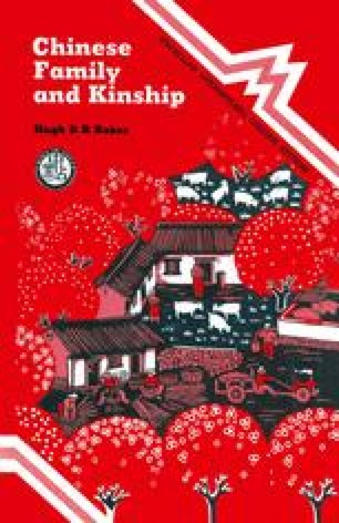 Chinese Family and Kinship