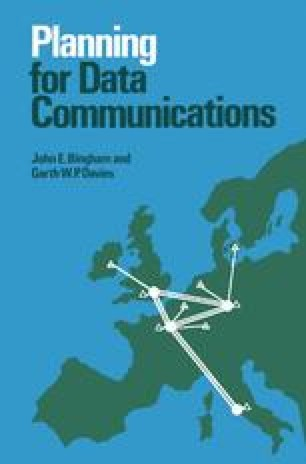 Planning for Data Communications