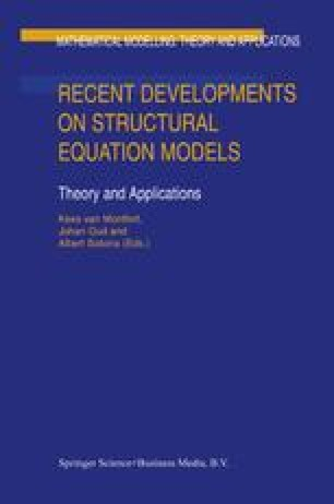Recent Developments on Structural Equation Models