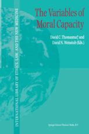 The Variables of Moral Capacity