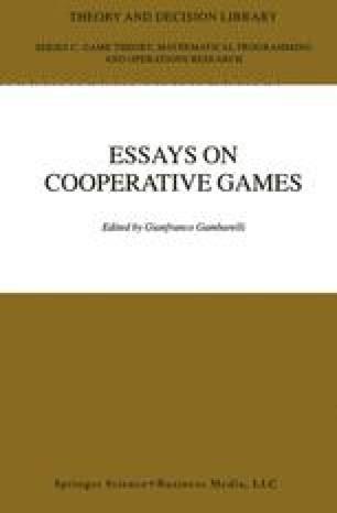 Essays in Cooperative Games