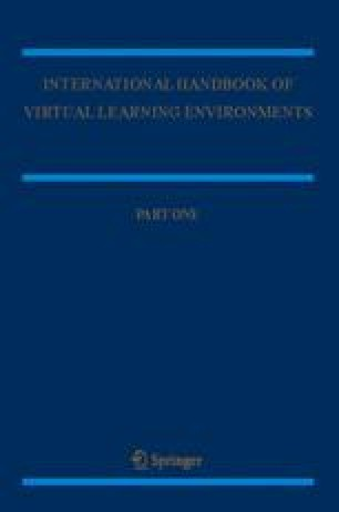 The International Handbook of Virtual Learning Environments