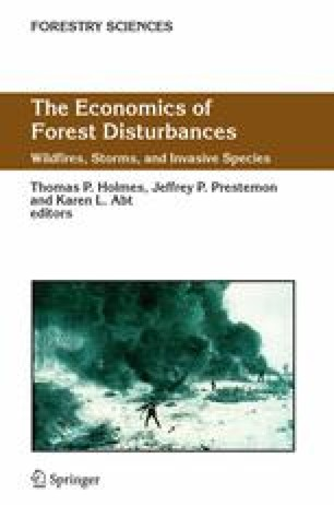 The Economics of Forest Disturbances