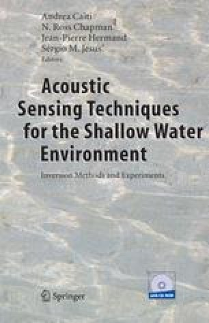 Acoustic Sensing Techniques for the Shallow Water Environment