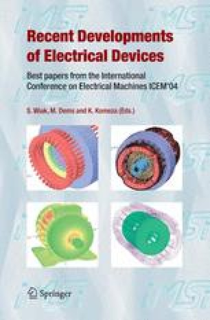 Recent Developments of Electrical Drives