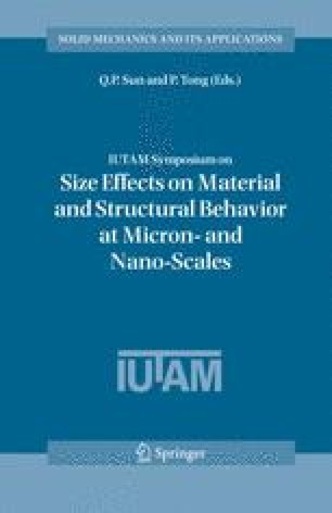 IUTAM Symposium on Size Effects on Material and Structural Behavior at Micron- and Nano-Scales