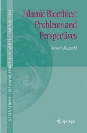 Islamic Bioethics: Problems and Perspectives