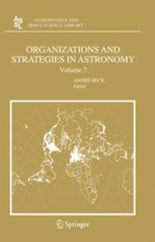 ORGANIZATIONS AND STRATEGIES IN ASTRONOMY VOLUME 7