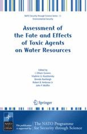 Assessment of the Fate and Effects of Toxic Agents on Water Resources