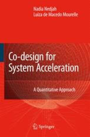 Co-design for System Acceleration