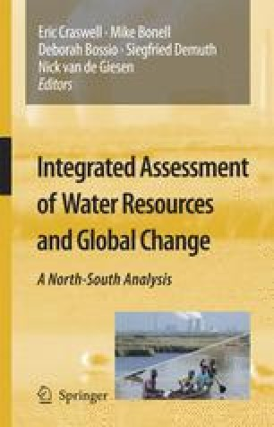 Integrated Assessment of Water Resources and Global Change