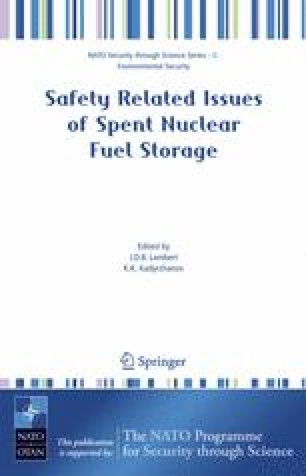 Safety Related Issues of Spent Nuclear Fuel Storage